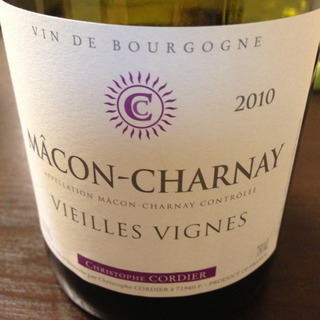 Christophe Cordier Mâcon Charnay Vieilles Vignes