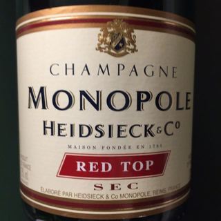 Heidsieck & Co. Monopole Red Top Sec(エドシック・モノポール レッド・トップ セック)