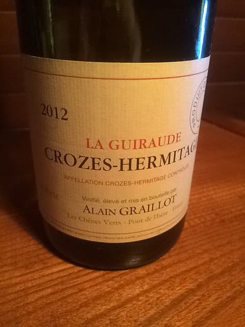Dom. Alain Graillot Crozes Hermitage La Guiraude