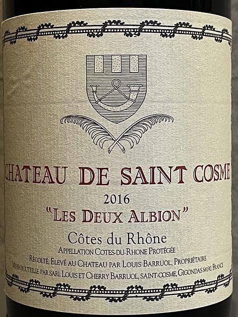 Ch. de Saint Cosme Les Deux Albion