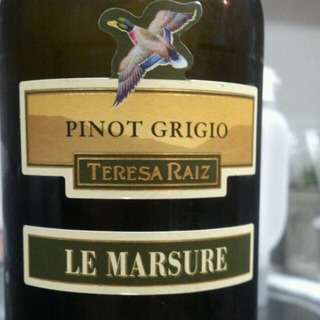 Teresa Raiz Le Marsure Pinot Grigio