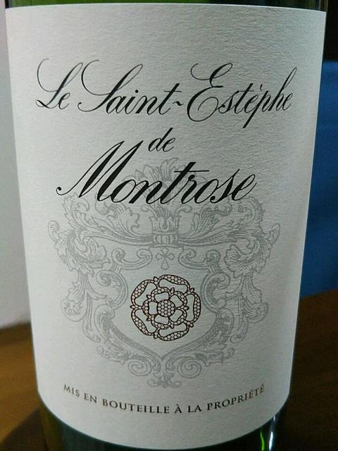 Le Saint Estèphe de Montrose