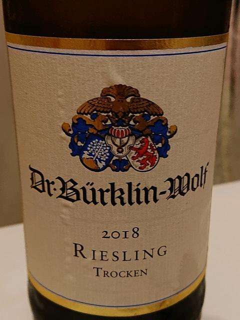 Dr. Bürklin Wolf Riesling trocken