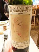 モンテヴェルティネ レ・ペルゴレ・トルテ(1999)