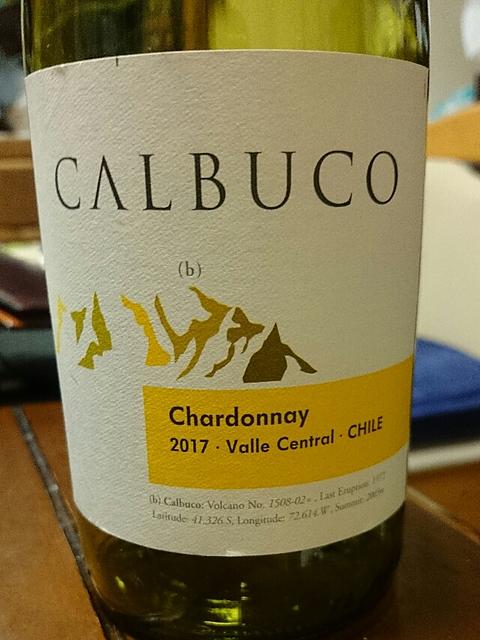 Calbuco Chardonnay(カルブッコ シャルドネ)