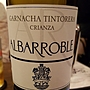 Albarroble Crianza(2012)