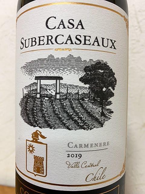 Casa Subercaseaux Carmenere(カーサ・スベルカソー カルムネール)