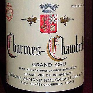 Dom. Armand Rousseau Charmes Chambertin Grand Cru