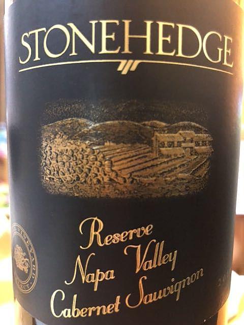 Stonehedge Reserve Napa Valley Cabernet Sauvignon