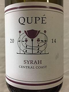 Qupé Central Coast Syrah(キュペ セントラル・コースト シラー)