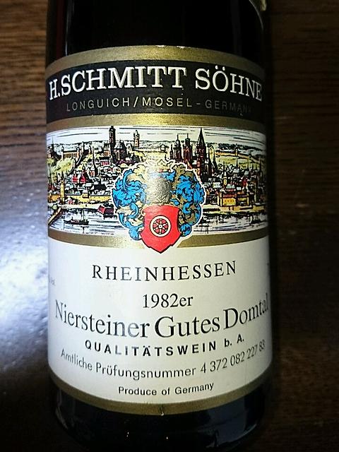 Schmitt Söhne Niersteiner Gutes Domtal