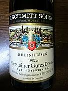 Schmitt Söhne Niersteiner Gutes Domtal(1982)