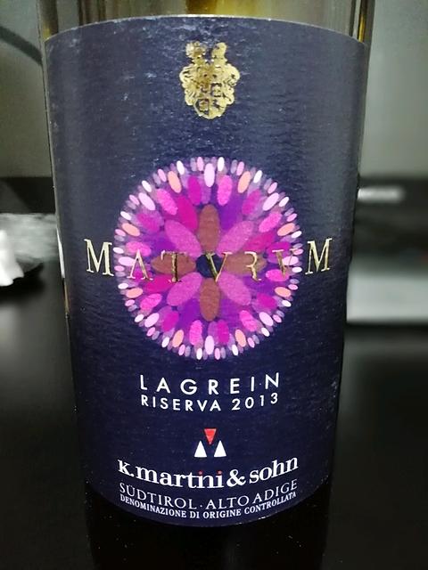 K. Martini & Sohn Maturum Lagrein Riserva