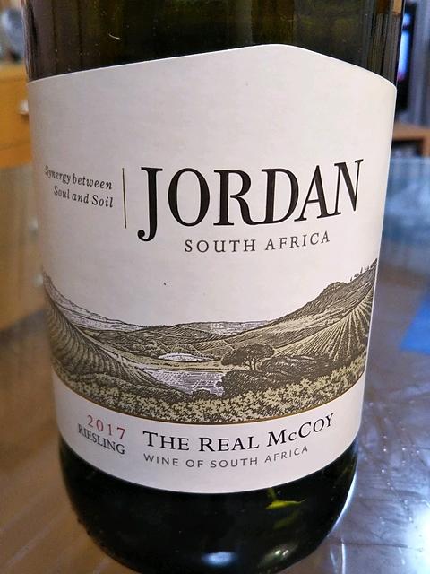 Jordan The Real McCoy Riesling