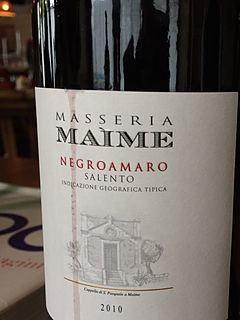 Tormaresca Masseria Maime Negroamaro(トルマレスカ マッセリア・マイメ ネーグロアマーロ)