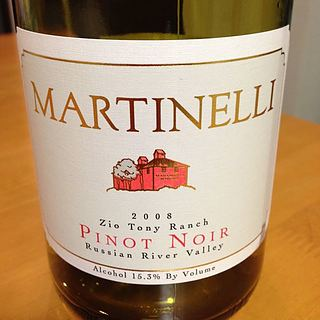 Martinelli Zio Tony Ranch Pinot Noir