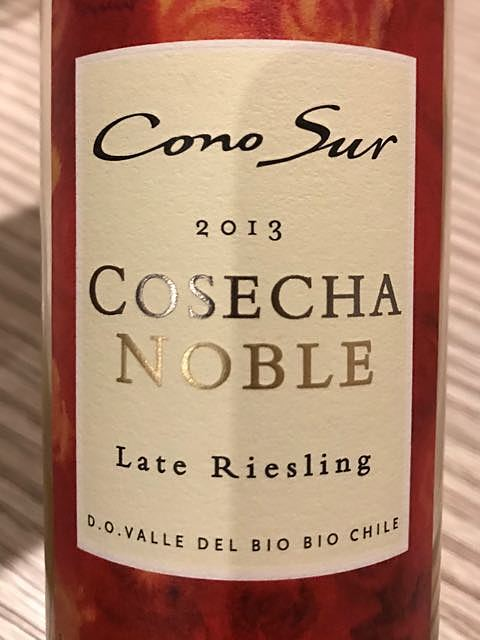 Cono Sur Cosecha Noble Late Riesling(コノ・スル コセチャ・ノーブレ レイト・リースリング)
