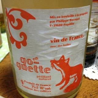Philippe Bornard Petillant Naturel Cuvée En Go Guette