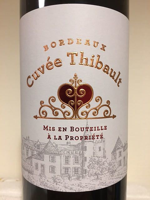 Cuvée Thibault Bordeaux Rouge