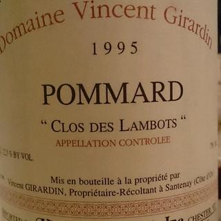 Vincent Girardin Pommard Clos des Lambots Vieilles Vignes