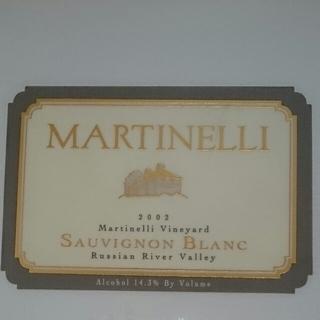 Martinelli Martinelli Vineyard Sauvignon Blanc