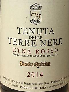 Tenuta delle Terre Nere Etna Rosso Santo Spirito(テヌータ・デッレ・テッレ・ネレ エトナ ロッソ サント・スピリト)