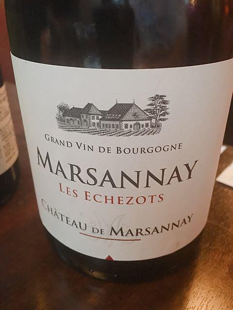 Ch. de Marsannay Gevrey Chambertin(シャトー・デュ・マルサネ ジュヴレ・シャンベルタン)