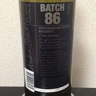 Winemakers Notes by Andrew Peace Batch 86(ワインメーカーズ・ノート・バイ・アンドリュー・ピース バッチ・86)