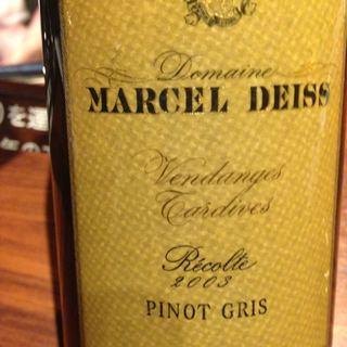 Marcel Deiss Pinot Gris Vendanges Tardives