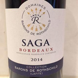 Barons de Rothschild Saga Bordeaux Rouge