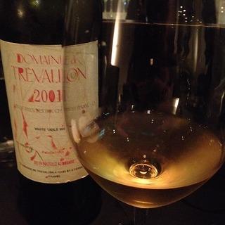 Dom. de Trévallon Blanc 2001