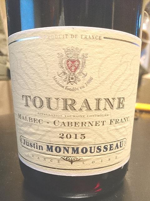 Justin Monmousseau Touraine Malbec Cabernet Franc