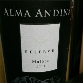 Alma Andina Malbec Reserve
