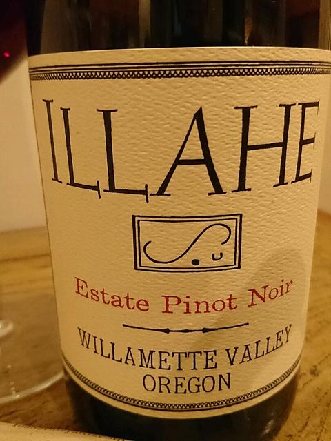 Illahe Estate Pinot Noir(イルヒー エステート ピノ・ノワール)