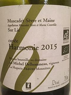 Michel Delhommeau Muscadet Sèvre et Maine Sur Lie Cuvée Harmonie