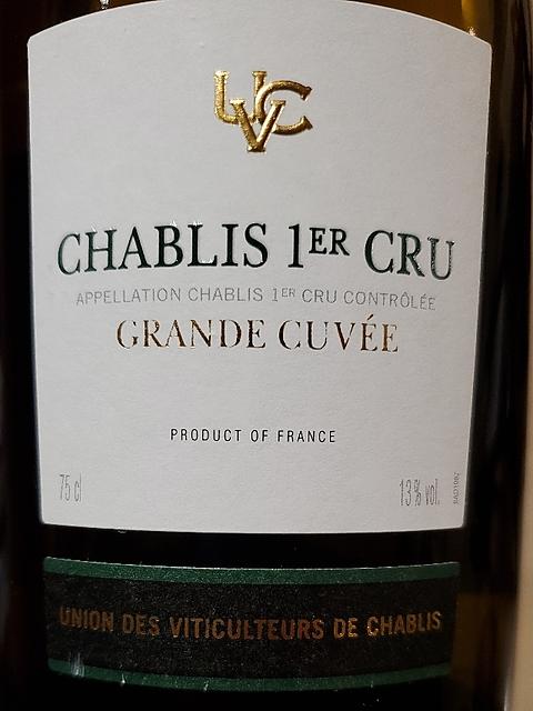 UVC Union des Viticulteurs de Chablis Chablis 1er Cru Grande Cuvée