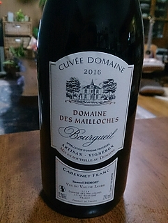 Cuvée Dom. Des Mailloches Bourgueil Rouge(キュヴェ ドメーヌ・デ・メイヨーシュ ブルグイユ ルージュ)