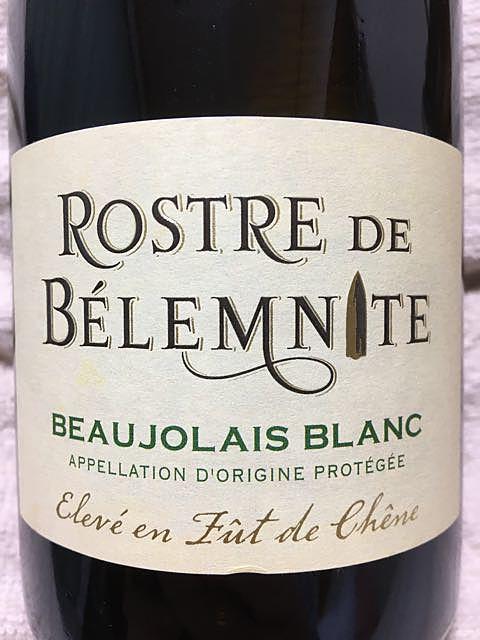 Rostre de Belemnite Beaujolais Blanc
