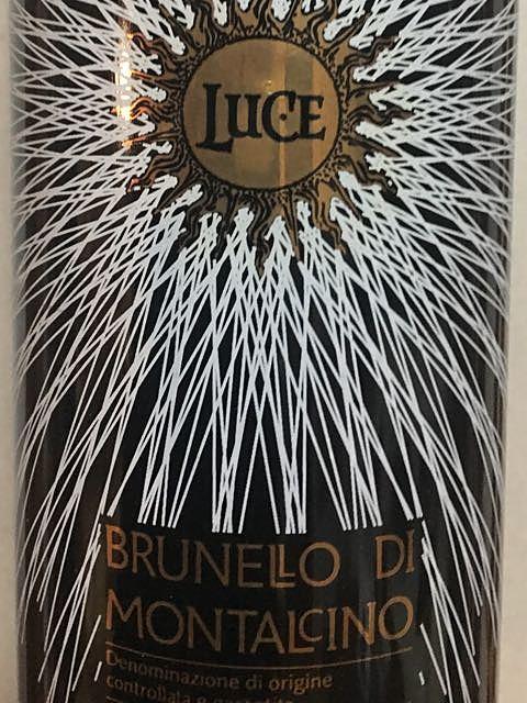 Luce della Vite Luce Brunello di Montalcino(ルーチェ・デッラ・ヴィーテ ルーチェ ブルネッロ・ディ・モンタルチーノ)