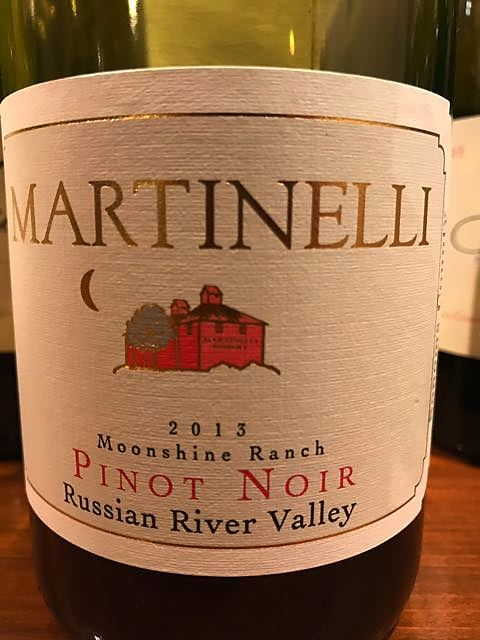 Martinelli Moonshine Ranch Pinot Noir