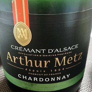 Arthur Metz Crémant d'Alsace Chardonnay