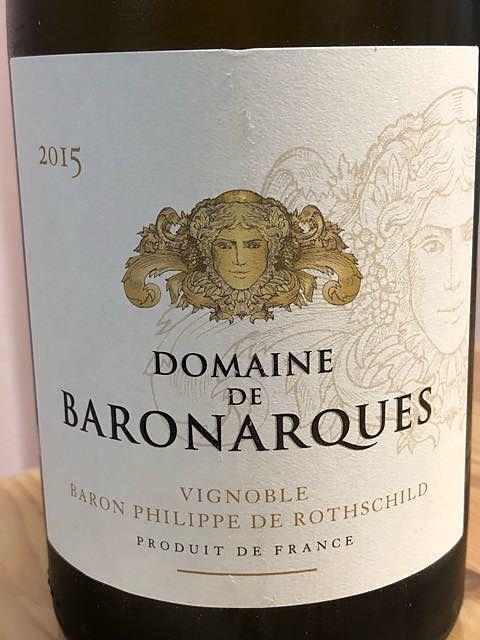 Le Chardonnay Dom. de Baron'Arques (Dom. de Baronarques Chardonnay)(ル・シャルドネ ドメーヌ・ド・バロナーク)