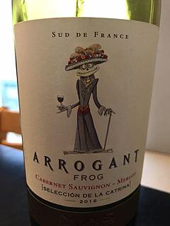 Arrogant Frog Selección de la Catrina Cabernet Sauvignon Merlot(アロガント・フロッグ セレクション・ド・ラ・カトリーナ カベルネ・ソーヴィニヨン メルロ)