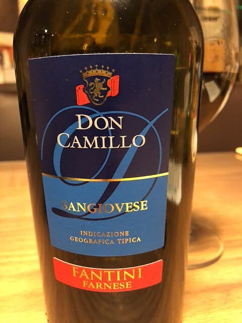 Fantini (Farnese) Don Camillo Sangiovese(ファンティーニ ドン・カミッロ サンジョヴェーゼ)