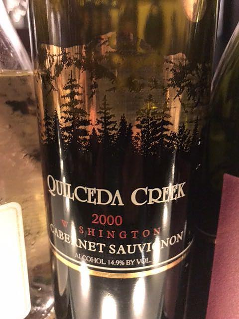 Quilceda Creek Cabernet Sauvignon 2000