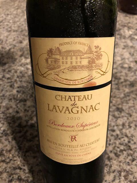 Ch. de Lavagnac Bordeaux Superiéur(シャトー・ド・ラヴァニャック ボルドー・シュペリュール)