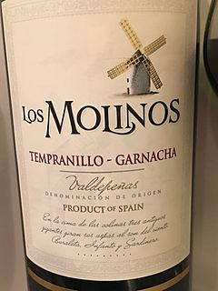 Los Molinos Tempranillo Garnacha(ロス・モリーノス テンプラニーリョ ガルナッチャ)