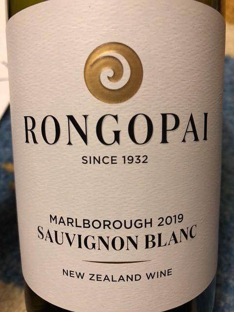 Rongopai Marlborough Sauvignon Blanc(ロンゴパイ マールボロ ソーヴィニヨン・ブラン)