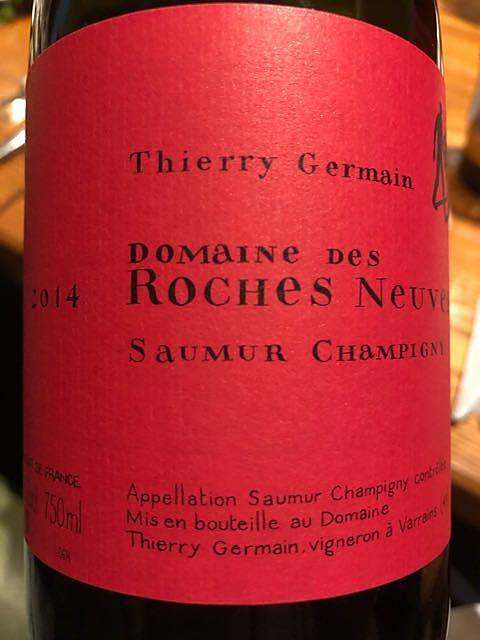 Thierry Germain Dom. des Roches Neuves Saumur Champigny