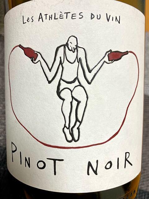 Les Athlètes du Vin Pinot Noir